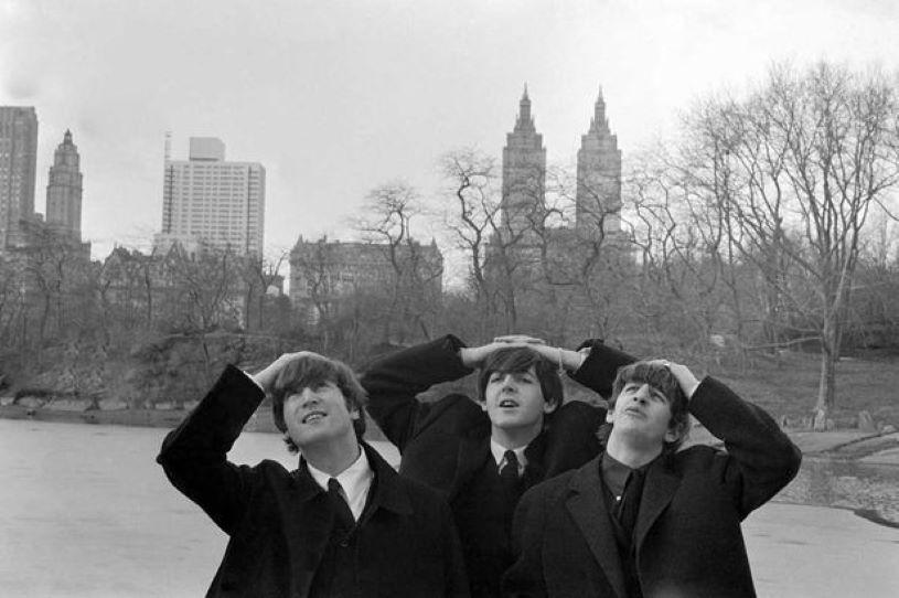 The Beatles in New York - John Paul and Ringo