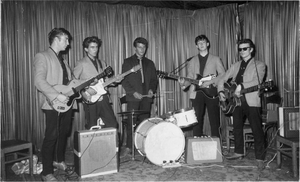 The Beatles in Hamburg at the Indra Club, August 1960
