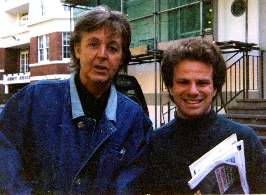 Paul McCartney with Richard