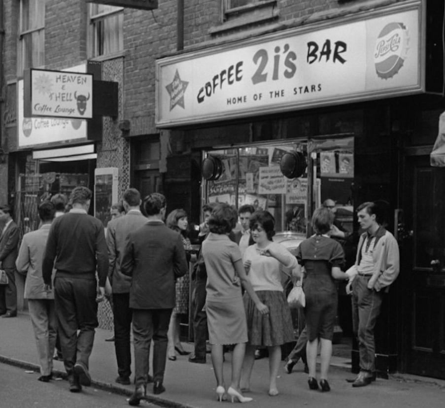 The 2 is coffee bar, Soho