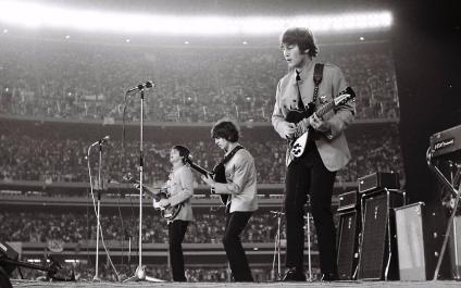 The Beatles at Shea